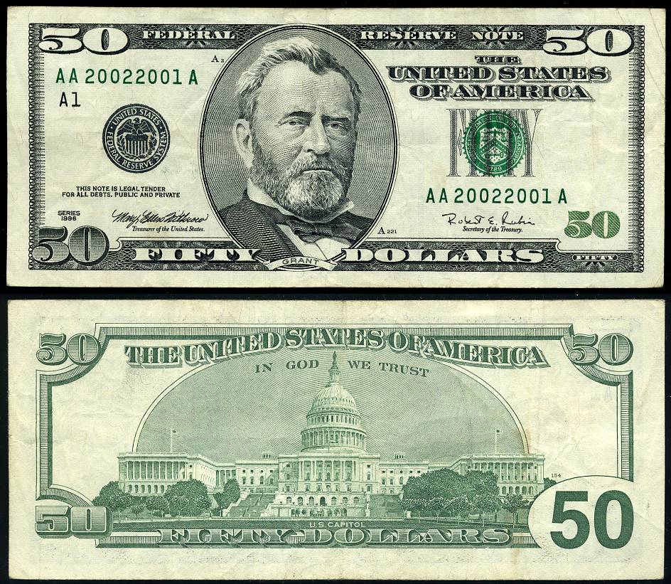 Us currency vintage value